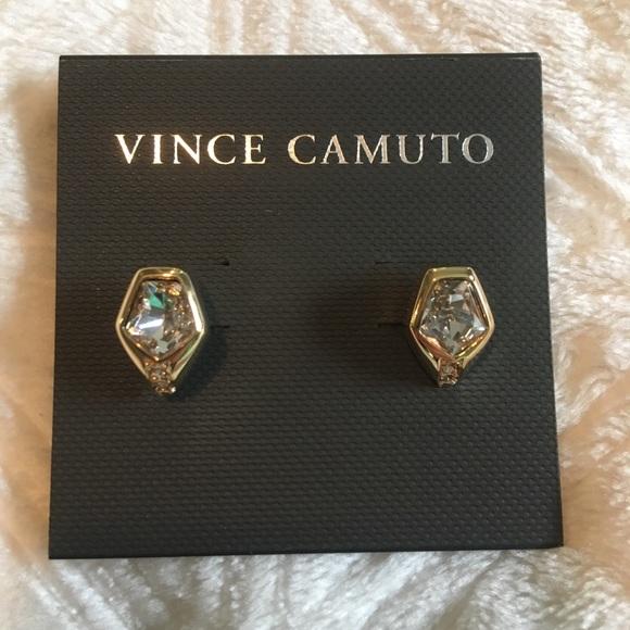 4dea5b5f5 Vince Camuto Multi-Cut Crystal Stud Earrings. Listing Price: $8.00